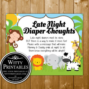 Safari Animals Price Is Right Baby Shower Game Wittyprintables