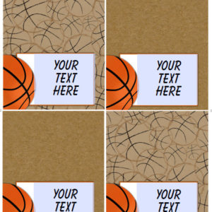 Basketball Birthday Party Printables Wittyprintables