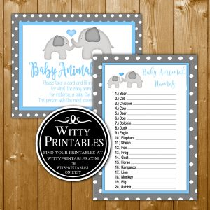 baby animal names | WittyPrintables