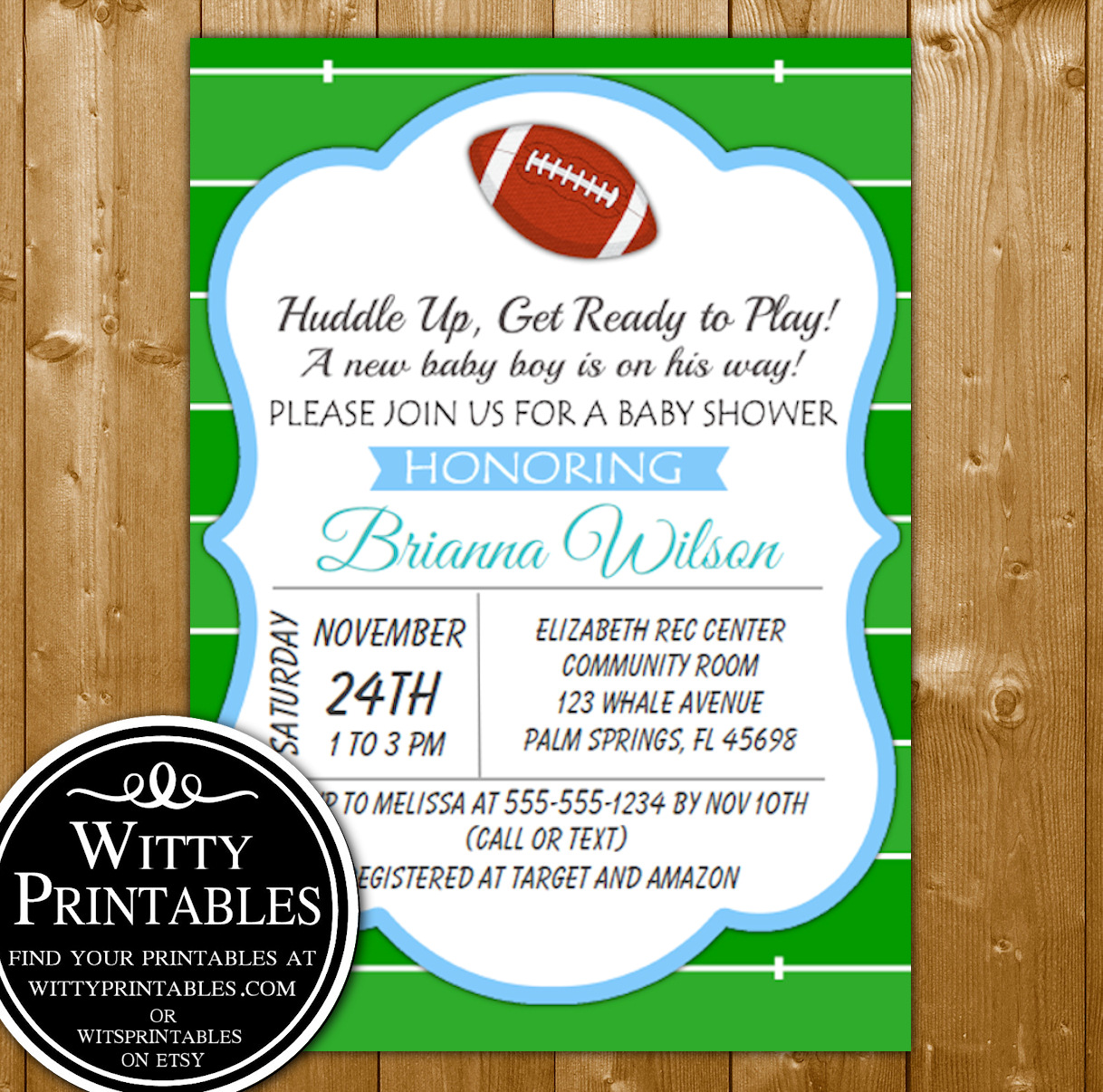 image about Baby Shower Printable Invitations called Little one Shower Invitation Printables Soccer Themed for a Boy Child Shower